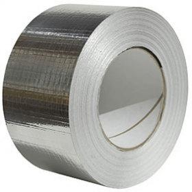 Aluminium Foil Tape - Solvent Adhesive
