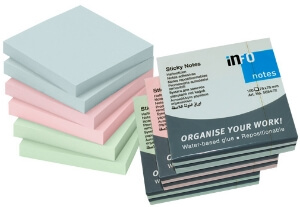 Pastel Sticky Notes