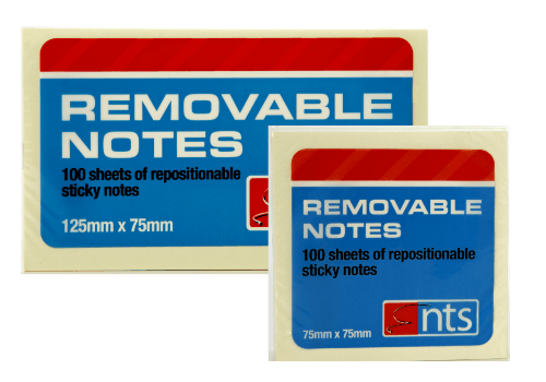 Removable Sticky Notes